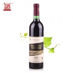 中粮长城干红 长城武龙干红葡萄酒长城解百纳750ml