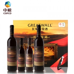 长城   干红葡萄酒  红酒礼盒盛世臻藏礼盒装