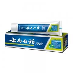 云南白药牙膏  薄荷清爽型150g 防出血溃疡清新口气
