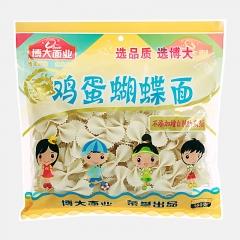 博大面业   鸡蛋蝴蝶面  宝宝辅食儿童挂面面条特色主食超值新品160g