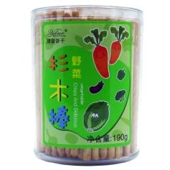 琦诺杉木棒饼干(野菜味)190g