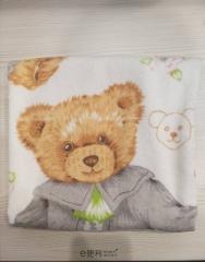 CNJ 小熊之家浴巾 70*130cm 条