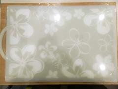 木板樱花大号直角 菜板 45.5*31.8cm 材质:P E