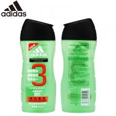 Adidas/阿迪达斯 源动激活沐浴露250ml 清新酷爽洗护合一