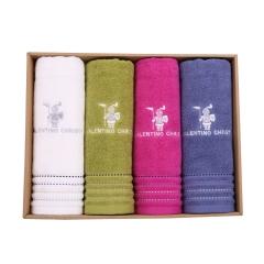 CNJ-斯特奇毛巾  纯棉刺绣 40*80cm 条