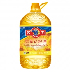 多力  黄金三益葵花籽油5L