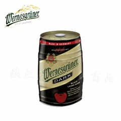 德国啤酒 原装500本金6期怎么倍投啤酒万格那黑啤桶装5L*1桶