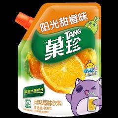果珍 风味固体饮料400g  阳光甜橙味