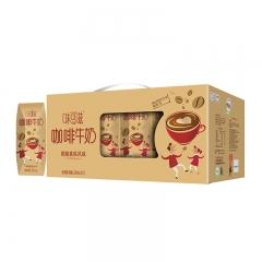 伊利味可滋咖啡牛奶200ml*12