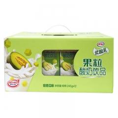 伊利 果粒酸奶饮品 245g*12盒