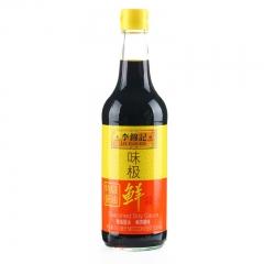 李锦记 味极鲜特级酱油500ml 精选酿造酱油凉拌炒菜