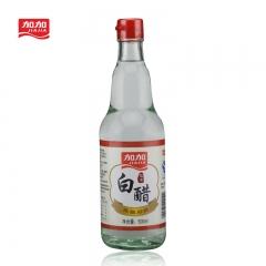 加加 糯米白醋 500ml 食醋 糯米酿造好醋 酸度适中 口感绵柔