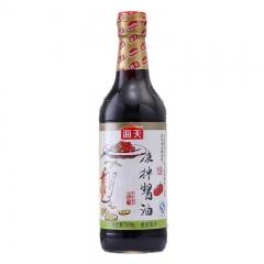 海天凉拌酱油  凉拌菜海鲜蘸酱油鱼生酱油寿司酱油500ml