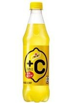 怡泉+C 汽水柠檬味 500ml