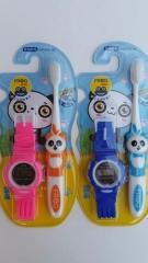 青蛙宝贝 系列 极细软毛儿童清洁牙刷QB118B