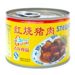 古龙  红烧猪肉罐头