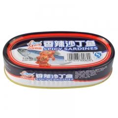 古龙香辣沙丁鱼罐头120g
