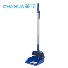 茶花 塑料扫帚簸箕套装组合不锈钢扫地魔术扫把笤帚家用畚斗软毛