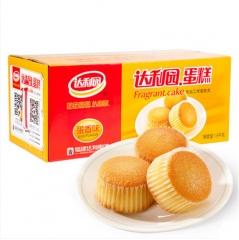 达利园蛋糕  蛋香味 早餐食品 面包糕点小吃点心零食2000g