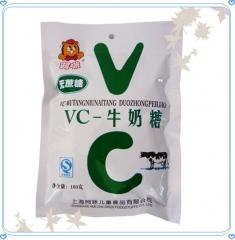 上海阿咪无蔗糖VC-牛奶糖(100克/袋)
