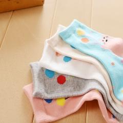 儿童纯棉袜子 8-12岁  颜色随机