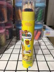 三木 熊出没12色桶装彩色铅笔