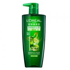 欧莱雅 茶树精油植萃去屑滋养洗发露 无硅油针对油性头皮700ml