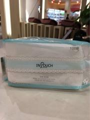 韩国 进口化妆棉 100片装