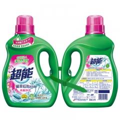 超能 柔顺舒适洗衣液 浓缩椰油低泡环保护衣护色3.5kg