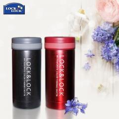 乐扣乐扣保温杯 茶杯 男女士便携不锈钢保温壶 水杯LHC550 200ML