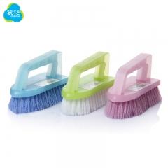 茶花 刷子连体洗衣刷大号多用鞋刷脸盆刷清洁塑料刷夏季居家刷