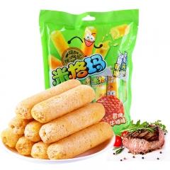 徐福记 米果卷香烤(牛排味) 90g/袋