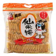 旺旺黑皮仙米饼  香脆休闲儿童零食品饼干小吃点心500g