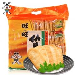 旺旺仙贝   办公室零食大礼包 休闲膨化零食礼物520g