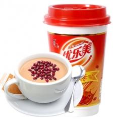 喜之郎 优乐美 杯装奶茶 红豆味65g