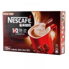 雀巢1+2特浓咖啡30条 速溶咖啡粉