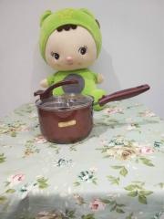 豪兴炫彩可立盖奶锅