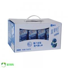 蒙牛 真果粒 一箱(250g*24盒) 蓝莓味