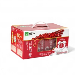 蒙牛 谷粒多 早餐奶 一提(250ml*12盒) 红豆味