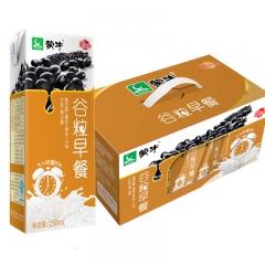 蒙牛 谷粒多 早餐奶 一提(250ml*12盒) 黑豆味