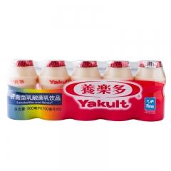 养乐多 活菌型 乳酸菌 乳饮品100ml*5