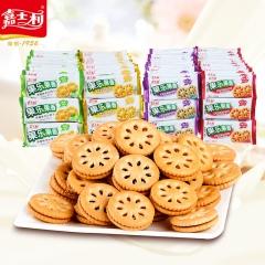 嘉士利 果乐果香 夹心饼干 凤梨味 215g
