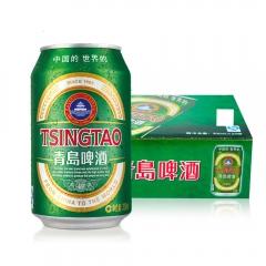 青岛啤酒 一箱(24罐) 330ml